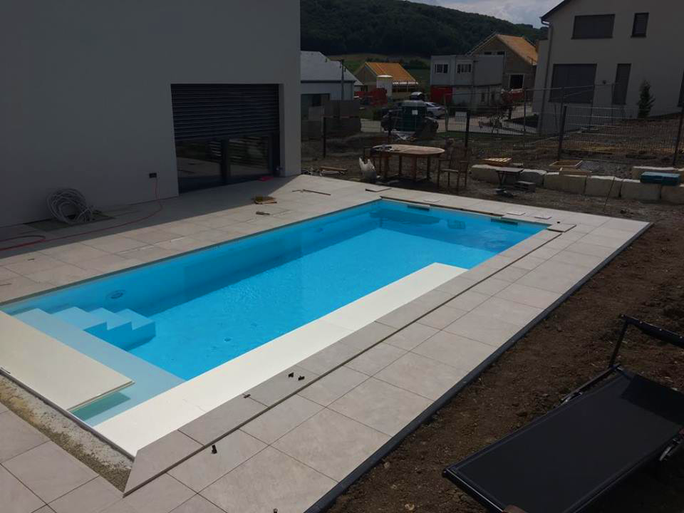 Projet piscine en cours